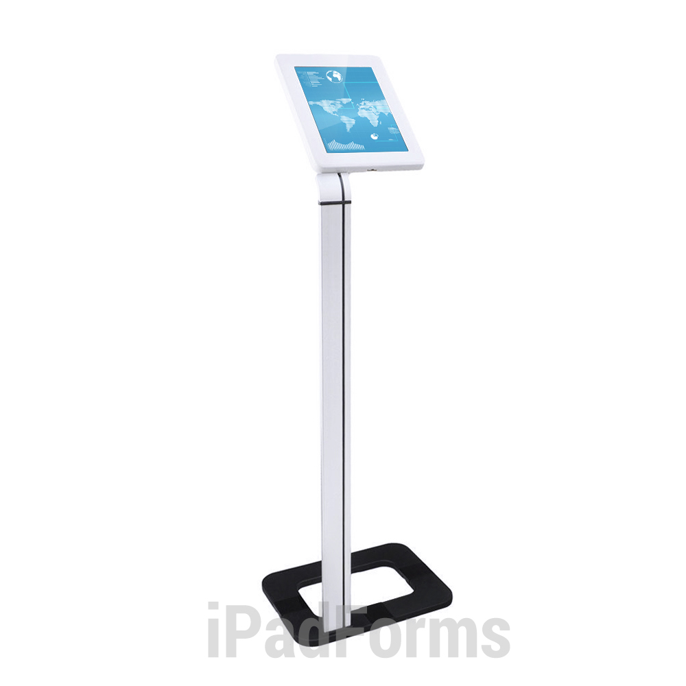 Front Plastic Top2 - iPad Kiosks Stand