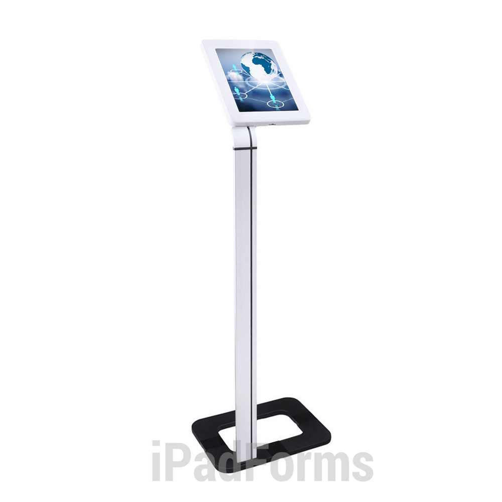 Front Plastic Top - iPad Kiosks Stand